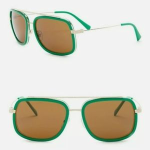 New Versace green sunglasses